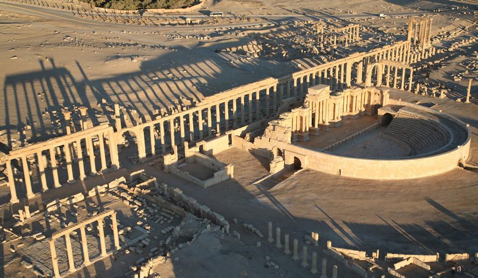 Древните артефакти в Палмирия