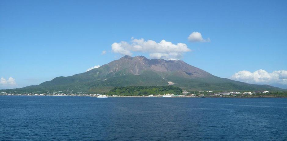 Калдера Айра - вулкан Сакураджима